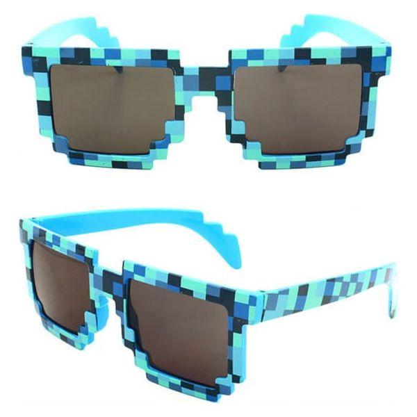 Unisex sluneční brýle s kostičkami