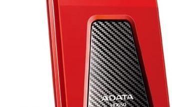ADATA HD650 - 1TB, červená AHD650-1TU3-CRD