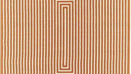 Oranžový vysoce odolný koberec Floorit@ Braid, 200x285cm - doprava zdarma!