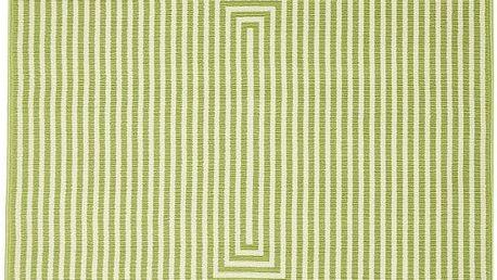 Zelený vysoce odolný koberec Floorit@ Braid, 200x285cm - doprava zdarma!