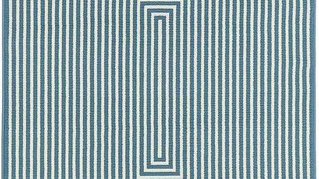 Světle modrý vysoce odolný koberec Floorit@ Braid, 200x285cm - doprava zdarma!