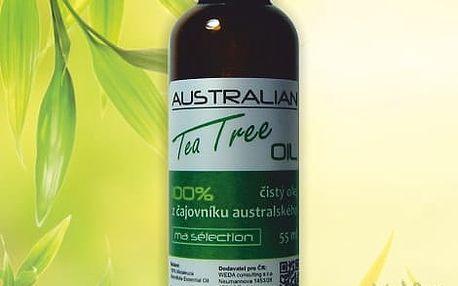 Nejsilnější přírodní antiseptikum Tea Tree Oil: balení 55 ml, na výběr 1-2 ks vč. poštovného