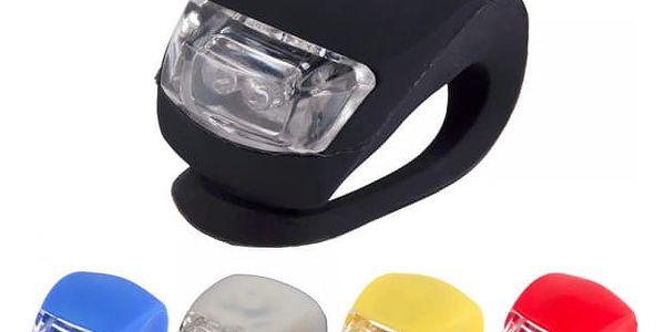 Univerzální LED světlo na kolo - více barev