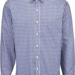 Modro-bílá károvaná košile Seven Seas