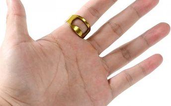 Otvírák v podobě prstenu