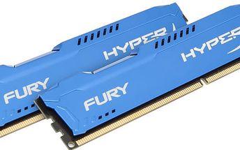Kingston HyperX Fury 16GB (2x8GB) DDR3 1600 CL 10 - HX316C10FK2/16