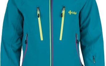 Dámská lyžařská bunda KILPI LILLIAN tyrkysová 36