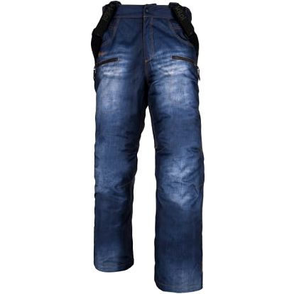 Pánské snowboardové kalhoty KILPI JEANSTER-M Modrá L
