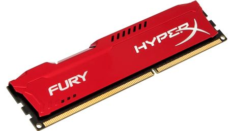 Kingston HyperX Fury Red 8GB DDR3 1600 CL 10 - HX316C10FR/8