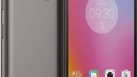Mobilní telefon Lenovo K6 Power Dual SIM (PA5E0086CZ) šedý SIM s kreditem T-Mobile 200Kč Twist Online Internet (zdarma)Software F-Secure SAFE 6 měsíců pro 3 zařízení (zdarma) + Doprava zdarma