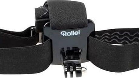 Popruh Rollei pro kamery GoPro a Rollei (21561) černý