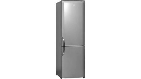 Kombinace chladničky s mrazničkou Beko CSA 29031 X nerez + Doprava zdarma
