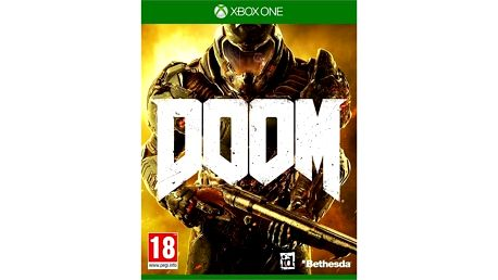 Hra Bethesda Xbox One DOOM (CEX314501) + Doprava zdarma