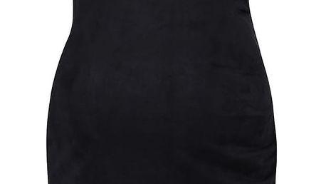 Černé těhotenské jersey šaty Mama.licious Lumo