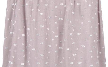 Šedorůžová vzorovaná sukně Broadway Noriko