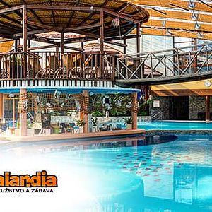 Celodenní vstup do Aquaparku Tatralandia nebo možnost využít ke vstupu do Gino Paradise Bešeňová za doplatek 2 €