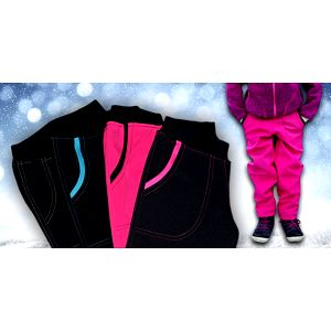 Dětské softshellové kalhoty značky GUDO