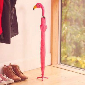 Růžový deštník Plaměňák