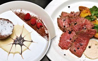 Degustační menu pro dva v luxusní restauraci