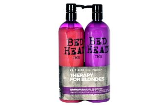 Tigi Bed Head Dumb Blonde šampon dárková sada W - šampon 750 ml + kondicionér 750 ml