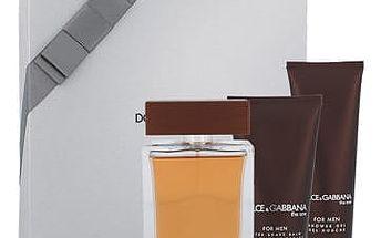 Dolce & Gabbana The One For Men EDT dárková sada M - EDT 100 ml + balzám po holení 75 ml + sprchový gel 50 ml