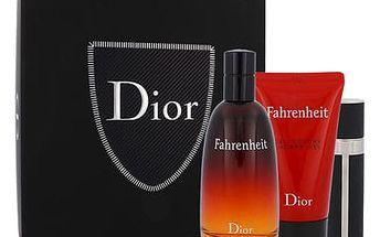 Christian Dior Fahrenheit EDT dárková sada M - EDT 100 ml + sprchový gel 50 ml + EDT 3 ml