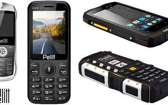 Smartphone s dlouhou výdrží nebo odolný či miniaturní mobil