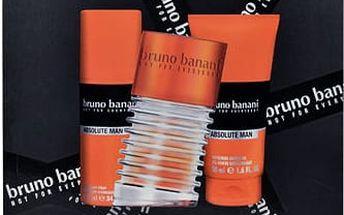 Bruno Banani Absolute Man EDT dárková sada M - EDT 50 ml + sprchový gel 50 ml + deodorant 50 ml