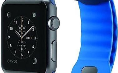 Belkin Apple watch Sports řemínek, 42mm,modrý - F8W730btC02