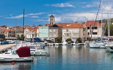 Pohoda na 7 nocí u moře v Chorvatsku, dítě zdarma