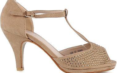 Sandálky na podpatku 1539KH 36