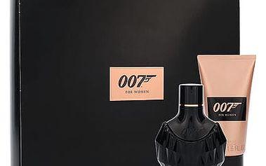 James Bond 007 James Bond 007 For Women EDP dárková sada W - parfémovná voda 30 ml + sprchový gel 50 ml
