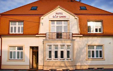 Moderní Hotel Golf Garni *** v Mikulově