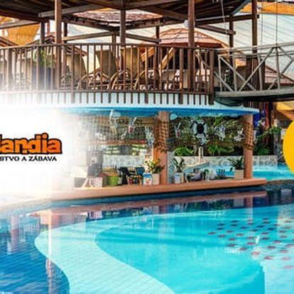 Aquapark Tatralandia nebo Gino Paradise Bešeňová - celodenní vstup