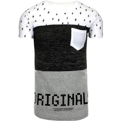 Pánské tričko Agra bílé M