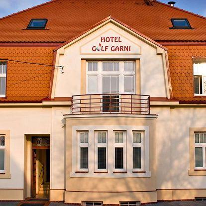 Hotel Golf Garni *** v Mikulově ve všední dny