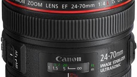 Objektiv Canon EF 24-70mm f / 4L IS USM (6313B005) + Doprava zdarma