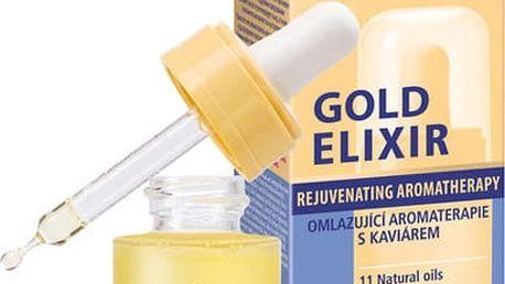 Dermacol Omlazující aromaterapie s kaviárem (Gold Elixir Rejuvenating Aromatherapy) 15 ml