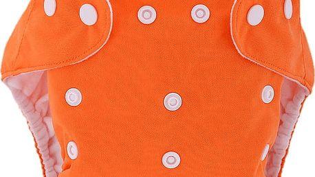 BOBOLIDER Plenkové kalhotky ECO Bobolider B17 – oranžové, bambusová vložka