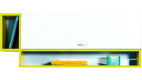 MOBI MO 13 (bílá lesk/žlutá)