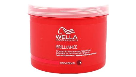Wella Brilliance Normal Hair 500 ml maska na vlasy W