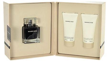 Narciso Rodriguez Narciso EDT dárková sada W - EDT 50 ml + tělové mléko 50 ml + sprchový krém 50 ml