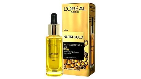L´Oréal Paris Nutri-Gold Extraordinary Oil 30 ml pleťové sérum W