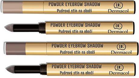 Dermacol Pudrové stíny na obočí (Powder Eyebrow Shadow) 1 g č. 2