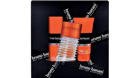 Bruno Banani Absolute Man EDT dárková sada M - EDT 50 ml + sprchový gel 50 ml + deodorant 50 ml