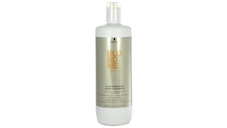 Schwarzkopf Blond Me pH Acid Balance Keratin Shampoo 1000 ml šampon W