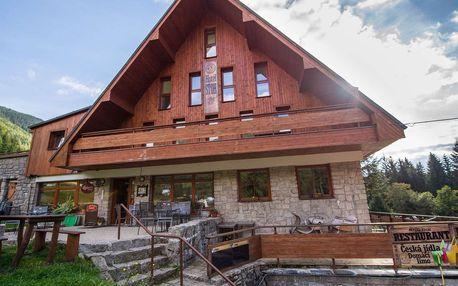Ski Hotel Stoh***+ ve Špindlerově Mlýně s polopenzí, dítě zdarma