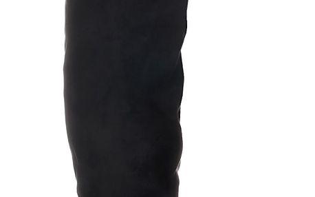 Černé kozačky nad kolena SW6099B 37