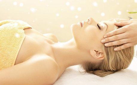 30minutová indická masáž hlavy