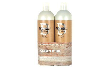 Tigi Bed Head Men Clean Up šampon dárková sada M - šampon 750 ml + kondicionér 750 ml